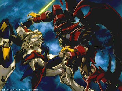 Mobile Suits anime fight