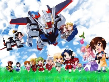 Gundam Seed anime collection