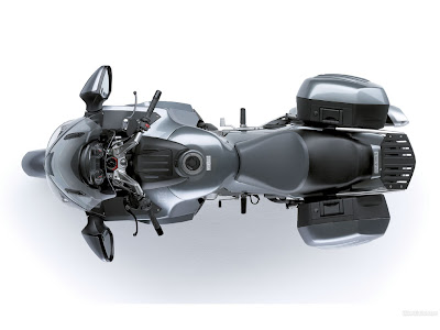 Kawasaki 1400 GTR top view
