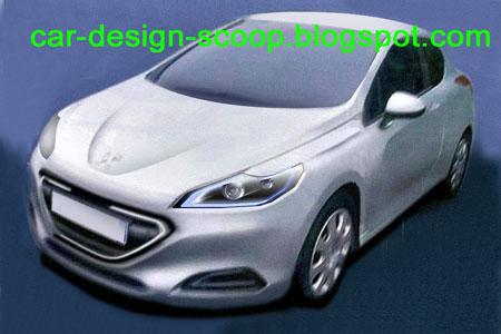 car design scoop scoop et dernieres infos automobile scoop nouvelle peugeot 309 la future. Black Bedroom Furniture Sets. Home Design Ideas