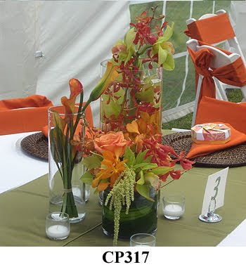 Caribbean Tropical wedding centerpiece Photograph kauaiflowerscom