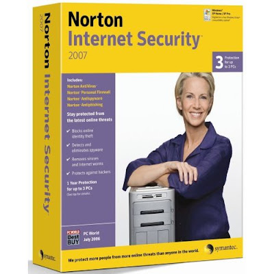 Norton Internet Security 2007 is always running in the background to