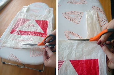 Plastic  Manufacturing on Allows The Bag To Be Opened Up Into A Larger Rectangle Of Plastic