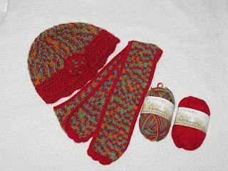NexStitch™ Free Crochet Patterns : Free Creamsicle Crochet Scarf