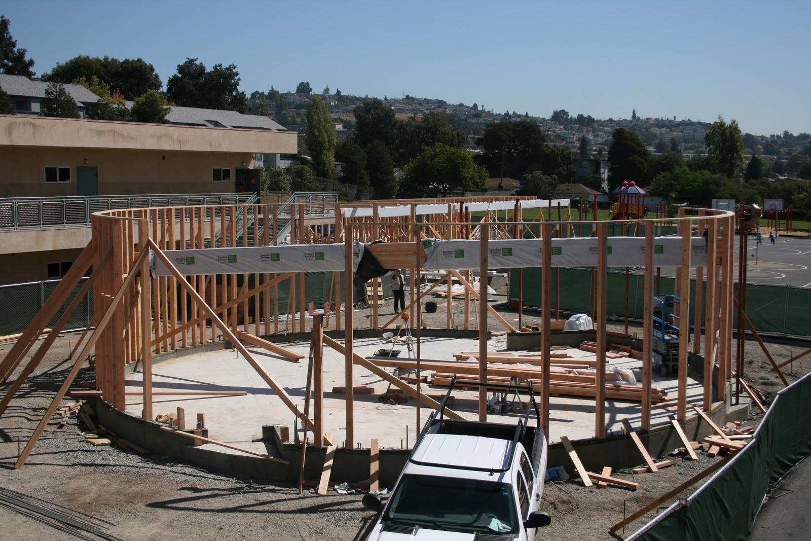 Argo Construction, Inc.: Framing Work Hillside Elementary School ...