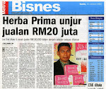 Jualan Herba Prima RM20juta setahun