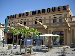 Quai des Marques, the first hangar