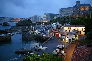 Port des Pêcheurs, Fishermen's harbour, in Biarritz