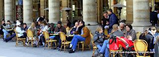 Café at Palais Royal