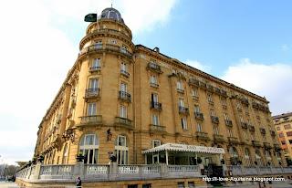 The Maria Cristina hotel