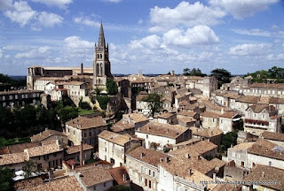 The roof tops of Saint-Emilion