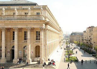The theater in Bordeaux