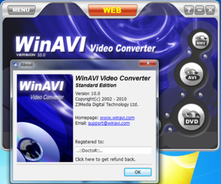 Download WinAVI Video Converter v11.5.1.4360 Portable