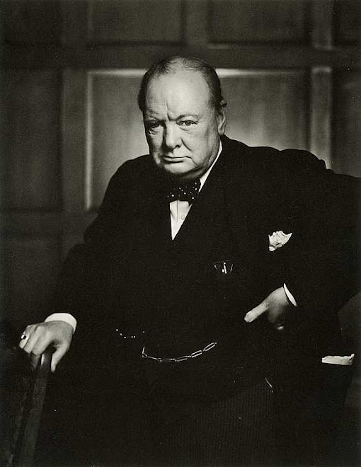 Sir Winston Churchill, B. Nov. 30, 1874 - D. Jan. 24, 1965