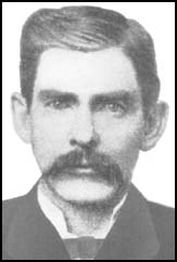Doc Holliday - Dentist, Gambler & Gunfighter,  Aug. 14, 1851 - Nov. 8, 1887