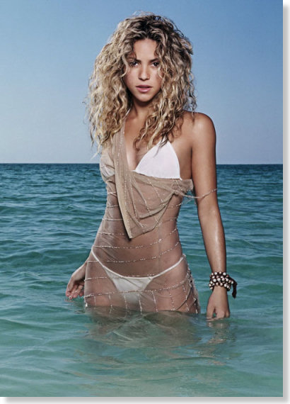 SHAKIRA - The Complete Package... Voice, Face, Body, Dancer & Performer!!!