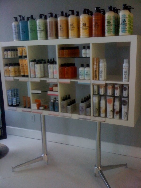 Salon Product Display Shelves