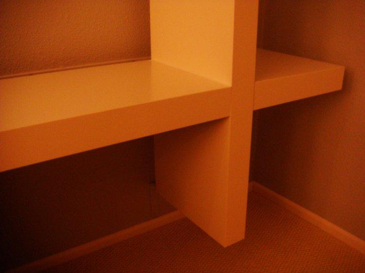 IKEA Lack Floating Shelves