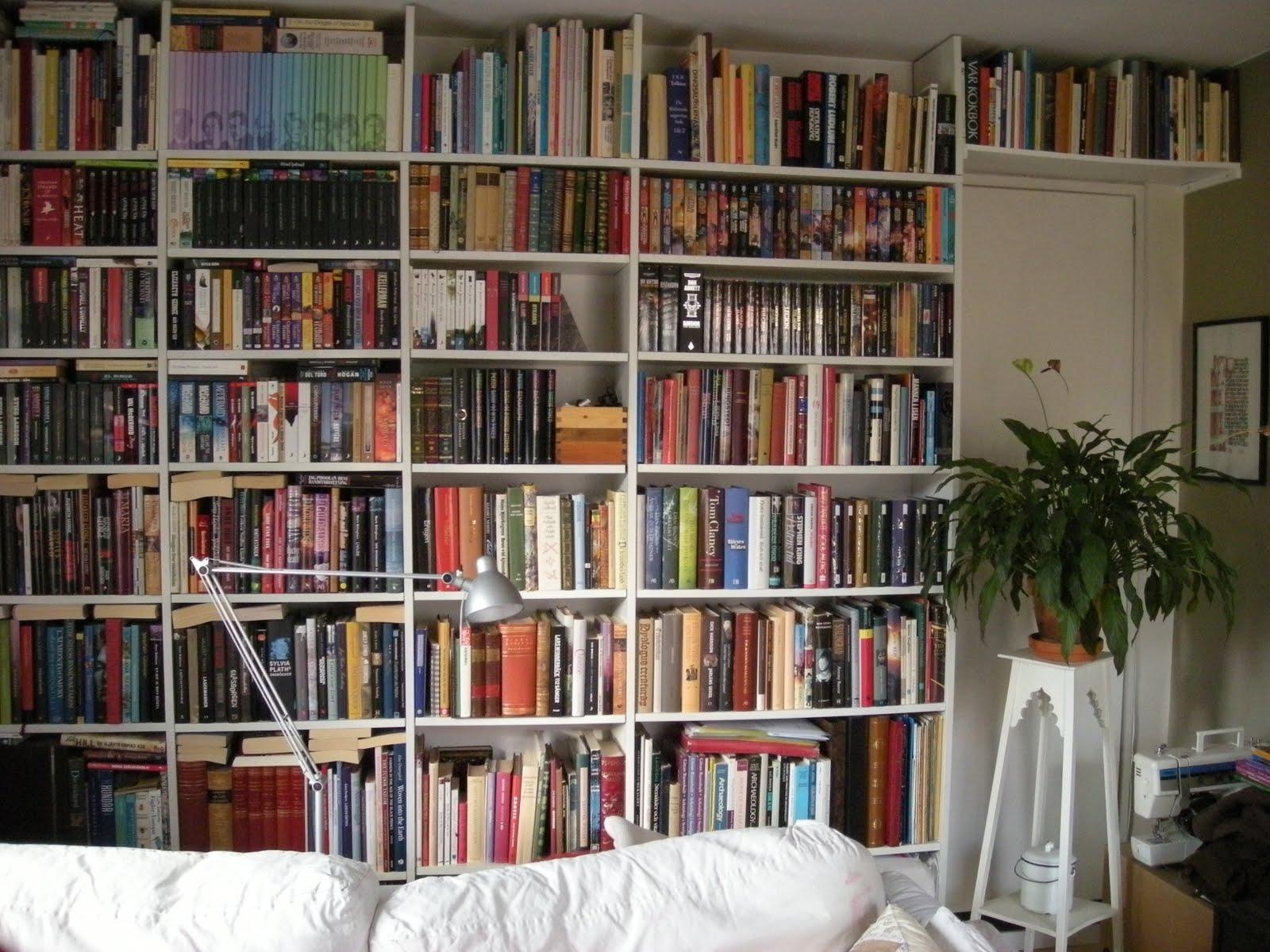 Custom Made Bookshelf Wall Ikea Hackers Ikea Hackers