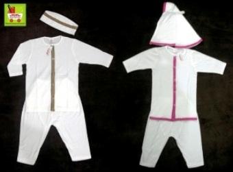 baju muslim bayi _polos