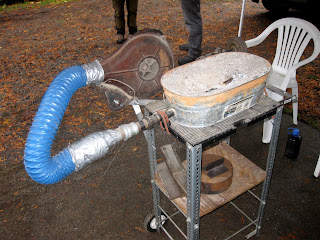 how to build a backyard forge