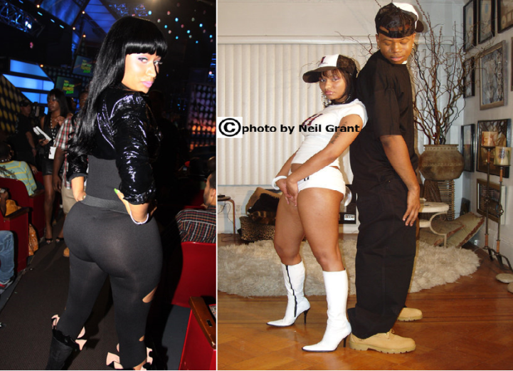 nicki minaj booty before and after. Nicki Minaj Pictures Before
