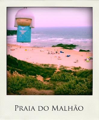 Raimundinha na Praia do Malhão