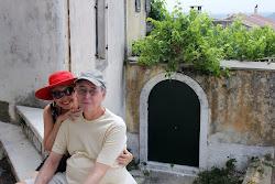 Joe and Bonnie in Corfu GREECE
