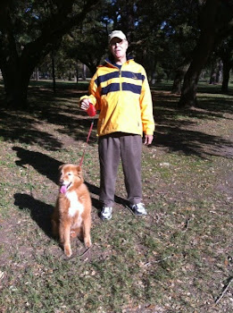 12/6/10 JOE TAKES MAX FOR A NATURE WALK