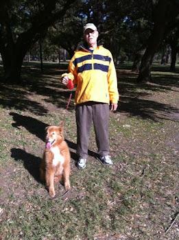 12/6/10 JOE TAKES MAX FOR A NATURE WALK