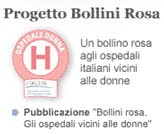 Progetto Ospedale Donna: bollini rosa a Bergamo e provincia