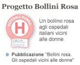 Progetto Ospedale Donna: bollini rosa a Bergamo e provincia