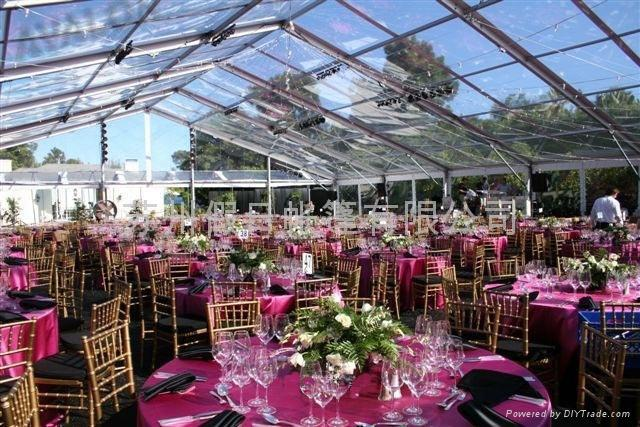 One of my favorite ways to do a tent is with a clear ceiling made out of clear vinyl that makes the sky and your surroundings part of your decore. & Merry Brides: How to Choose an Outdoor Wedding Tent Size - Size ...