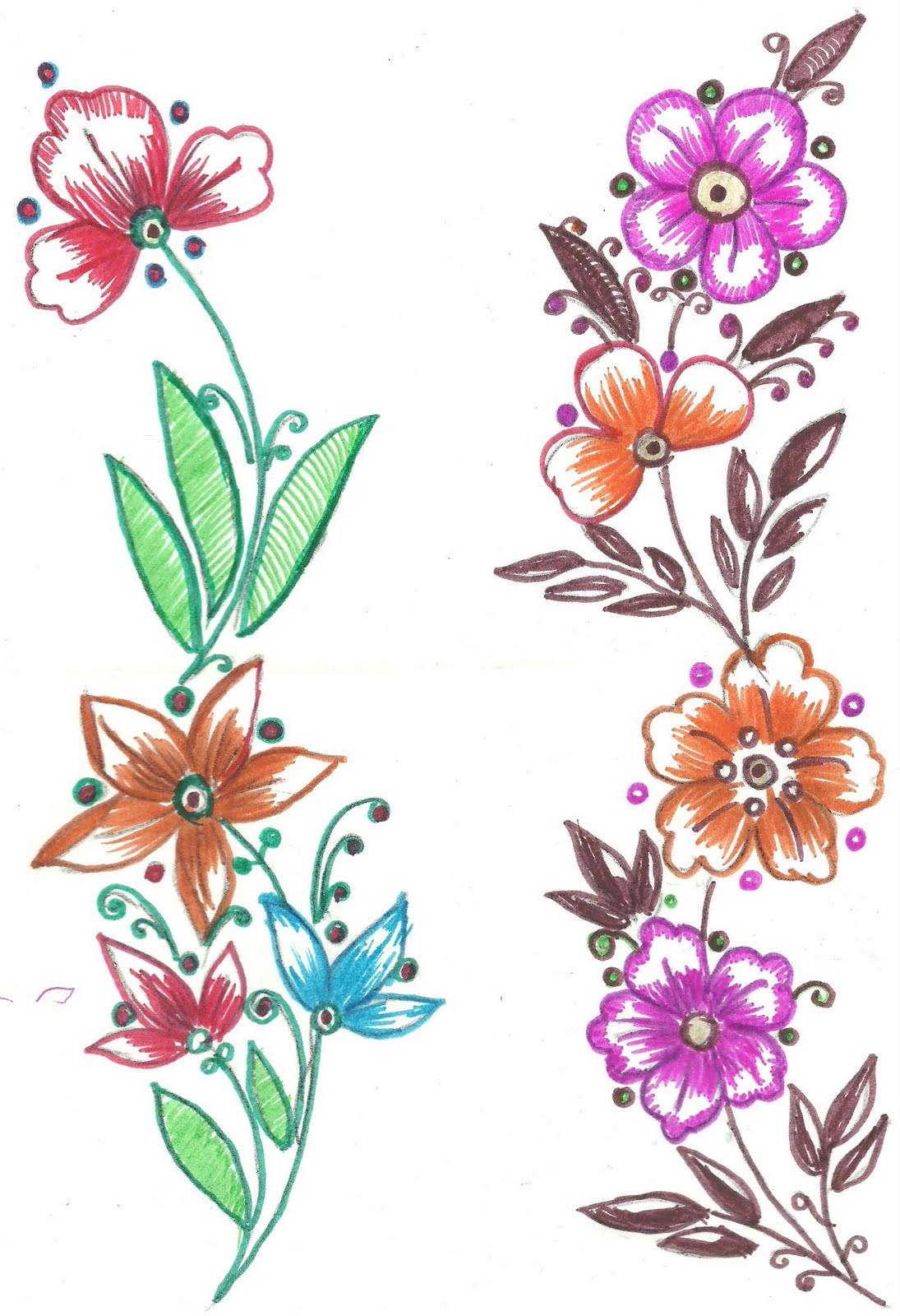 Bed sheet designs for fabric paint - Fabric Paint Designs