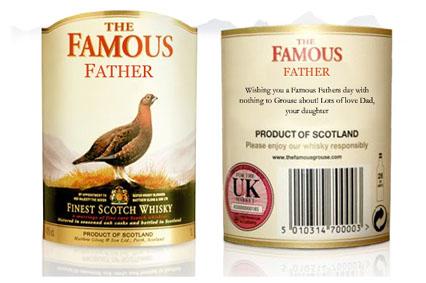 famous grouse etikett
