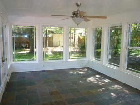Blank slate mrs blandings for Solarium flooring