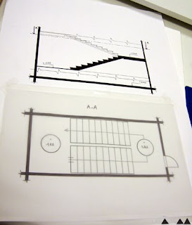 Manaa lyc e andr malraux mcr dessin technique l 39 escalier - Coupe et section dessin technique ...