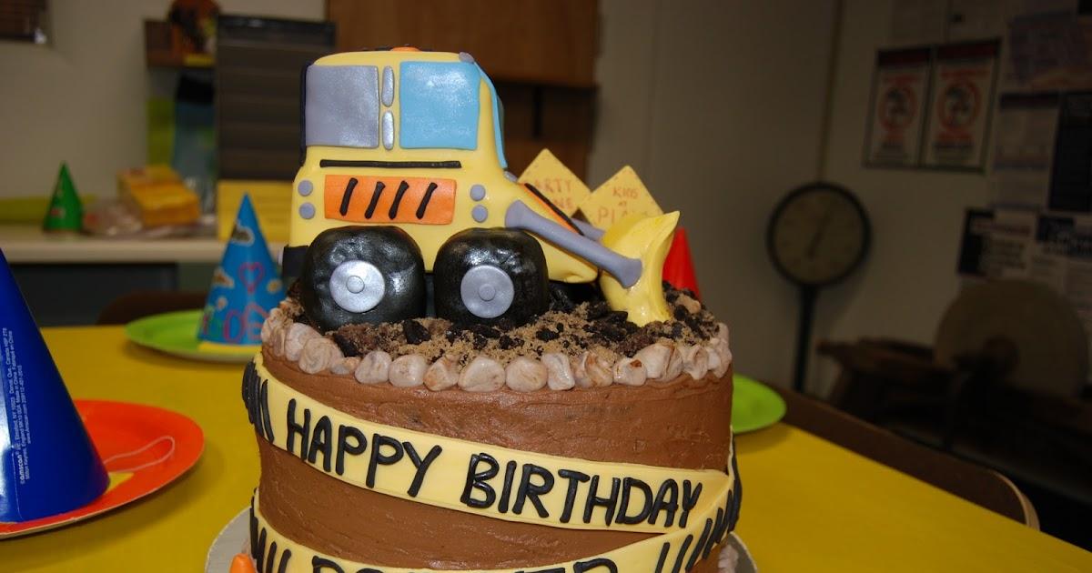 Debs Custom Cakes Bulldozer Cake