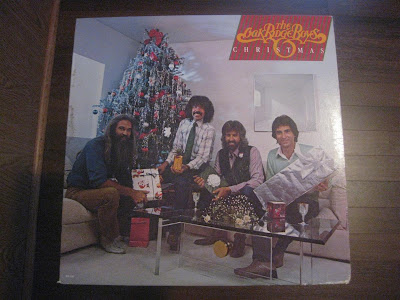 the oak ridge boys christmas, record, album cover, melting records