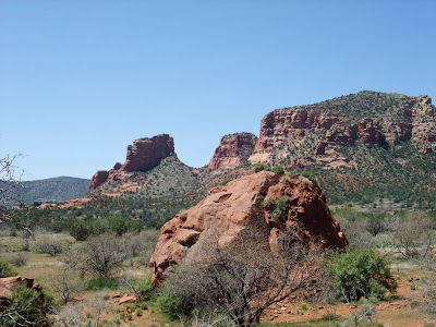 sedona arizona, plateau, hiking trail