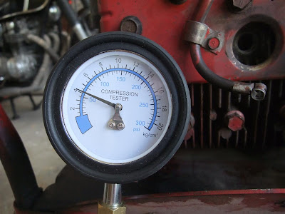 check engine compression, gauge, compression tester
