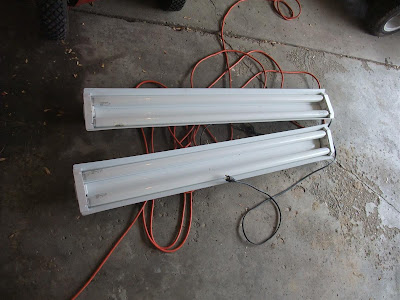 cheap and easy garage lights, how to