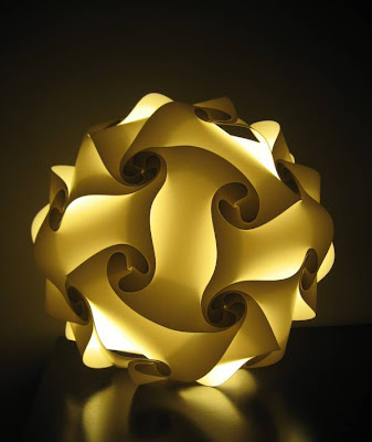 30 piece IQ light, Interlocking Quadralaterals