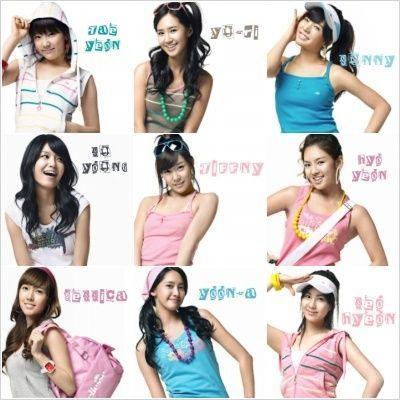 Girls' Generation Members