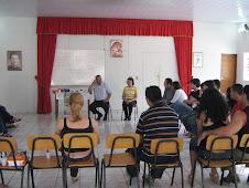 Formação de noivos na Paróquia N S Auxiliadora (a do Pe Mário).