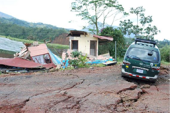 Soda La Campesina - dupa cutremur