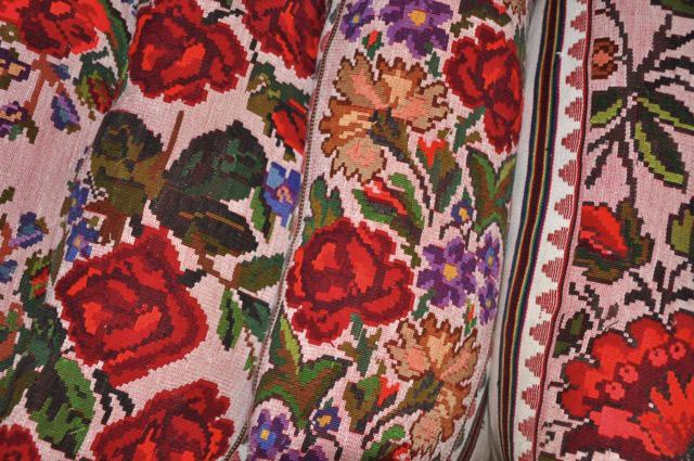Colour Joy Romanian Traditional Motifs Antropophagie