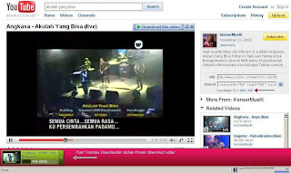 Cara Download Video Music Youtube dengan Fast Youtube Downloader Add-ons Mozilla