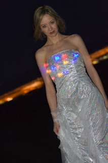 electric light-up wedding dress