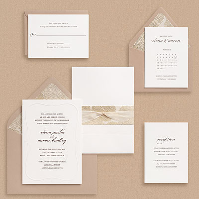Wedding Card Fonts on Just A Plain White Card    Embossed  Fonts Plays An Important Role